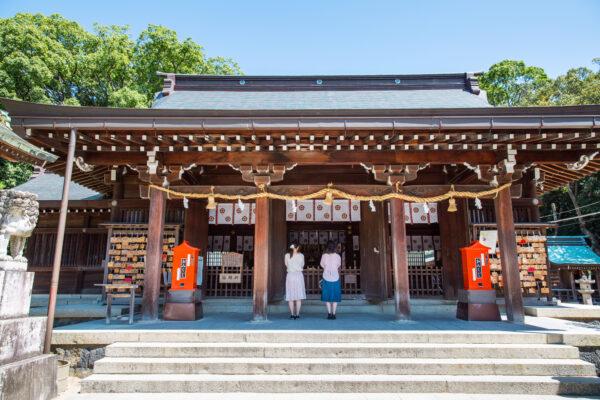 神社参拝の作法